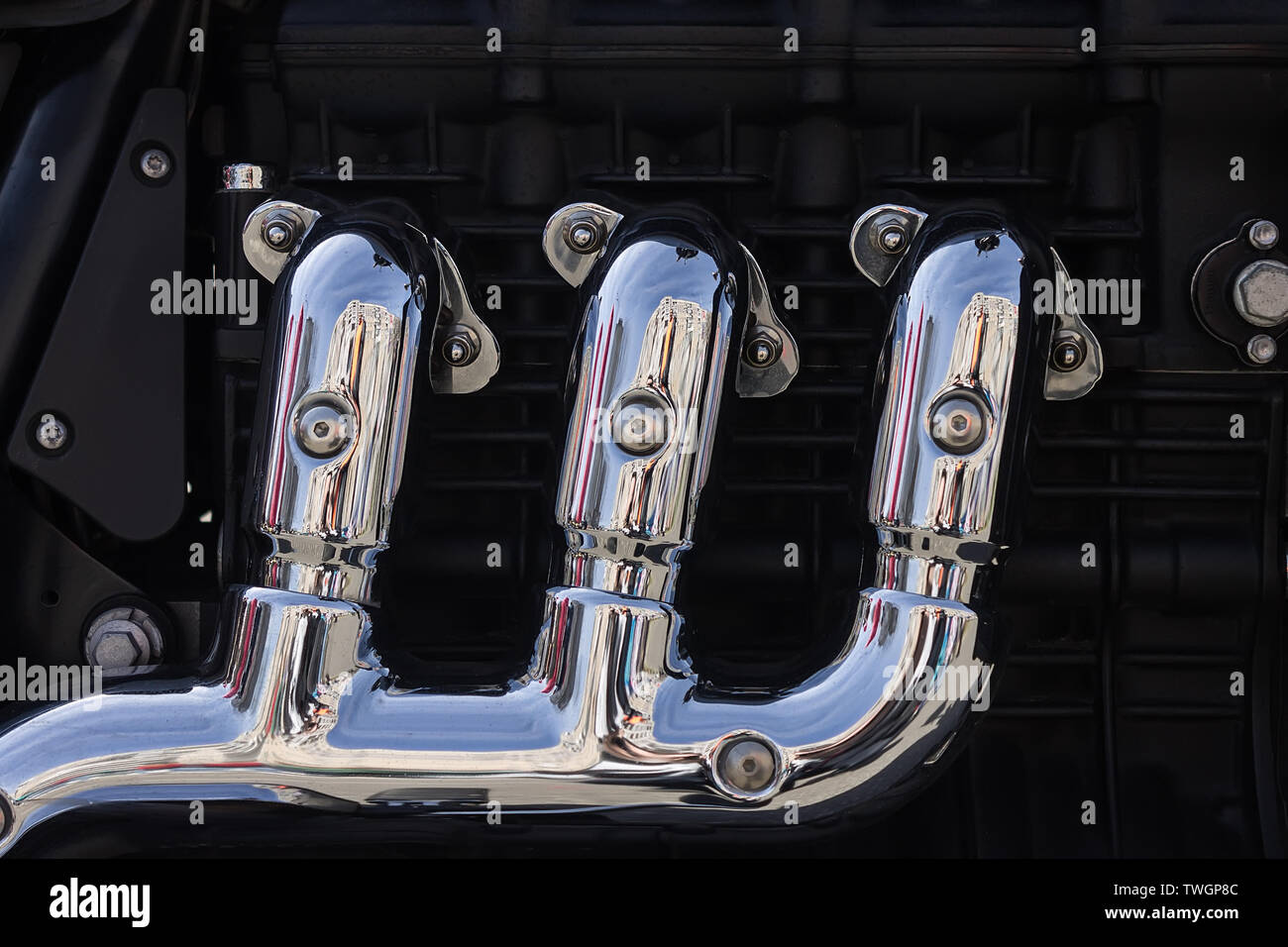 Engine Exhaust Stock Photos & Engine Exhaust Stock Images