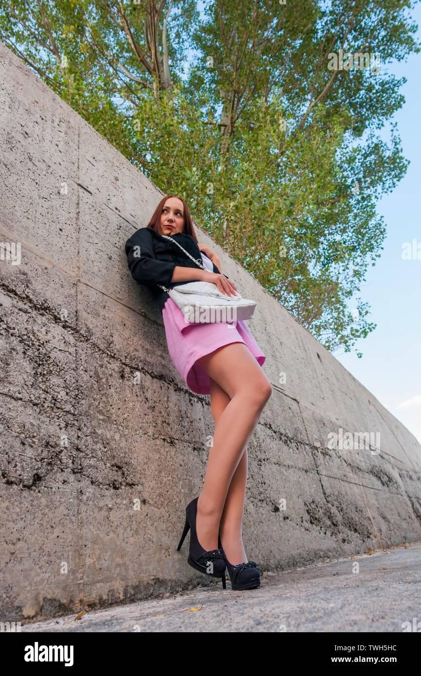 showing skirt girls mini really short