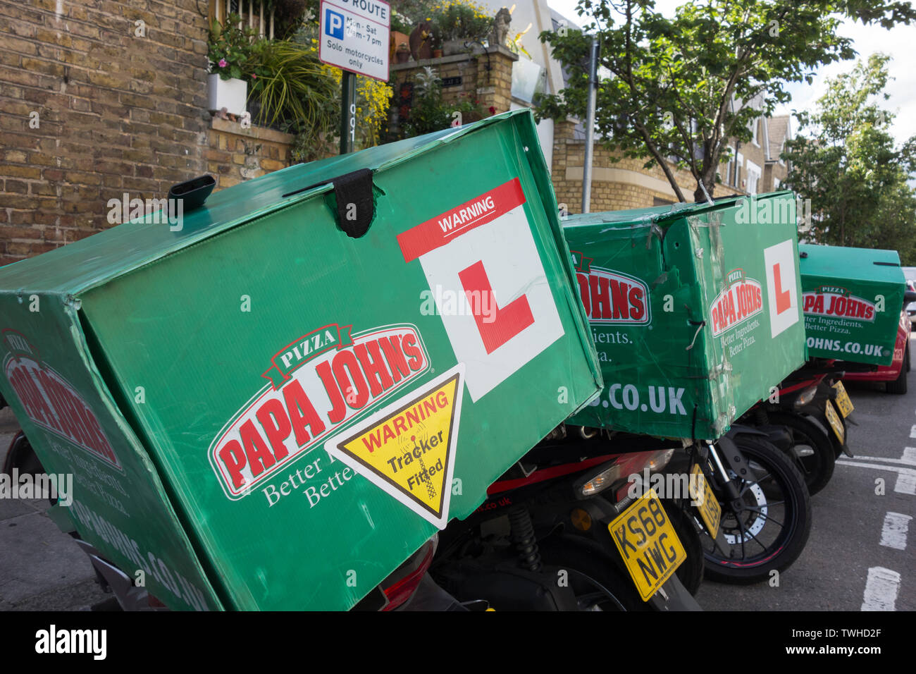 Pizza Delivery Uk Stock Photos Pizza Delivery Uk Stock