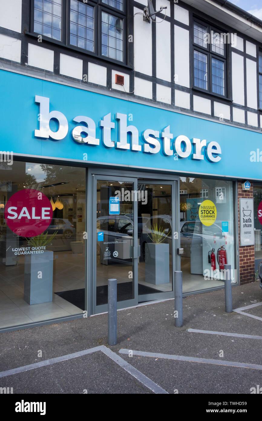 Bathroom Retailer Stock Photos & Bathroom Retailer Stock