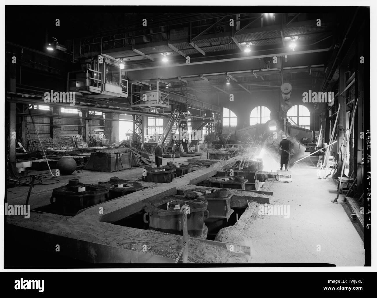 New 8x10 World War I Photo Guns and Cannon at the Bethlehem Steel Company