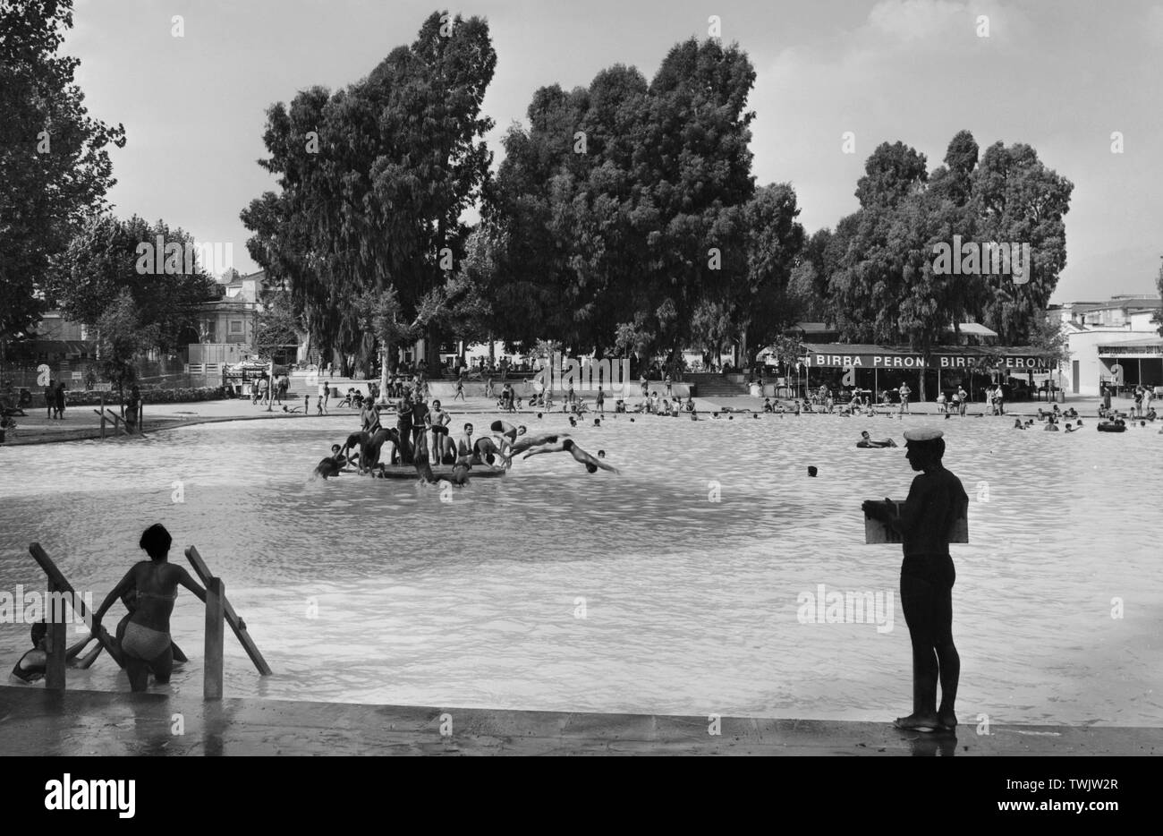 Tivoli Terme Bamb.Thermal Black And White Stock Photos Images Page 2 Alamy