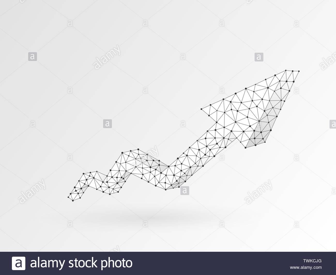 Progress Success Structure Triangle Shape Stock Photos