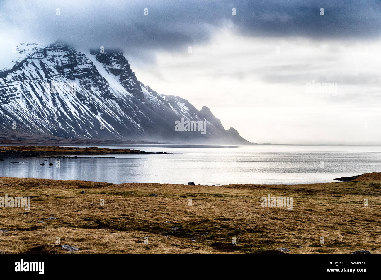The south east coast of Iceland - Stock Image