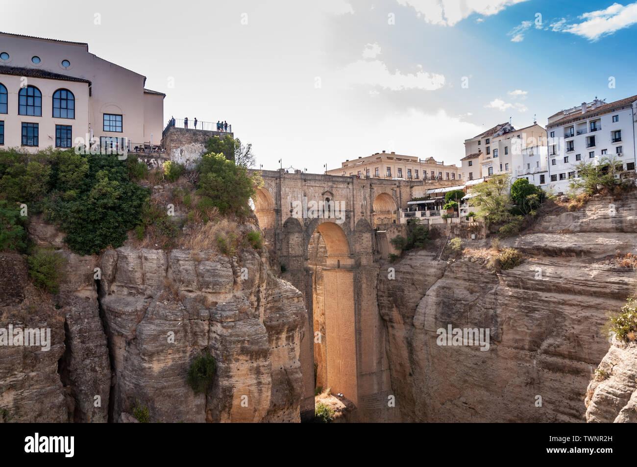 Ronda's Puente Nuevo - Stock Image