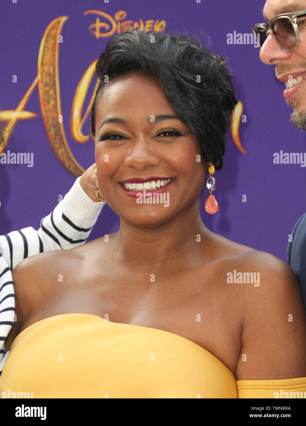"""Disney's Live- Action """"Aladdin"""" Premiere held at the El Capitan Theatre in Hollywood, California. Featuring: Tatyana Ali Where: Los Angeles, California, United States When: 21 May 2019 Credit: Adriana M. Barraza/WENN.com - Stock Image"""