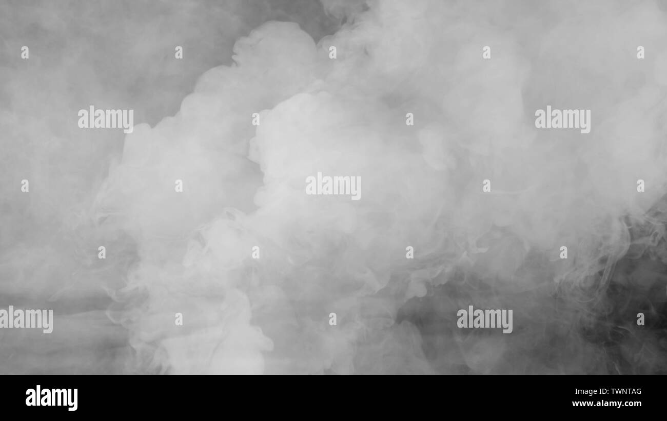Abstract Fog Or Smoke Move On Black Color Background Smoke On A Black Background The Light In The Smoke Stock Photo Alamy