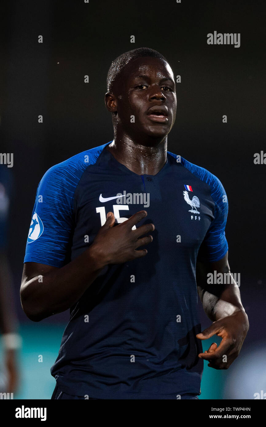 Malang Sarr France During The Uefa Euro Under 21 Italy 2019 Group C Match Between France