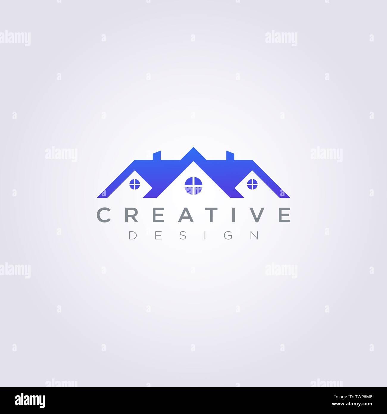 House Roof Vector Illustration Design Clipart Symbol Logo Template Stock Vector Image Art Alamy