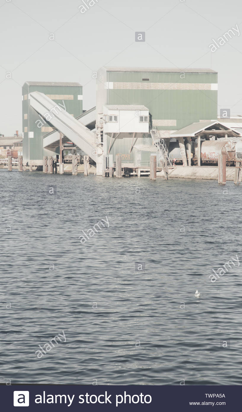 small independant industries - Stock Image