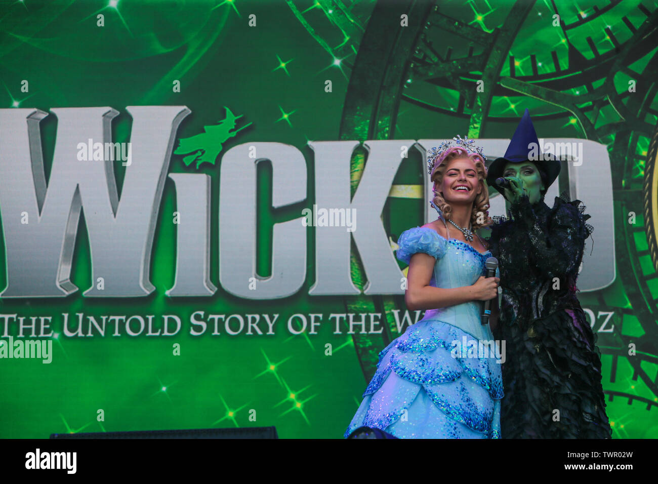 Wicked Musical London Stock Photos & Wicked Musical London