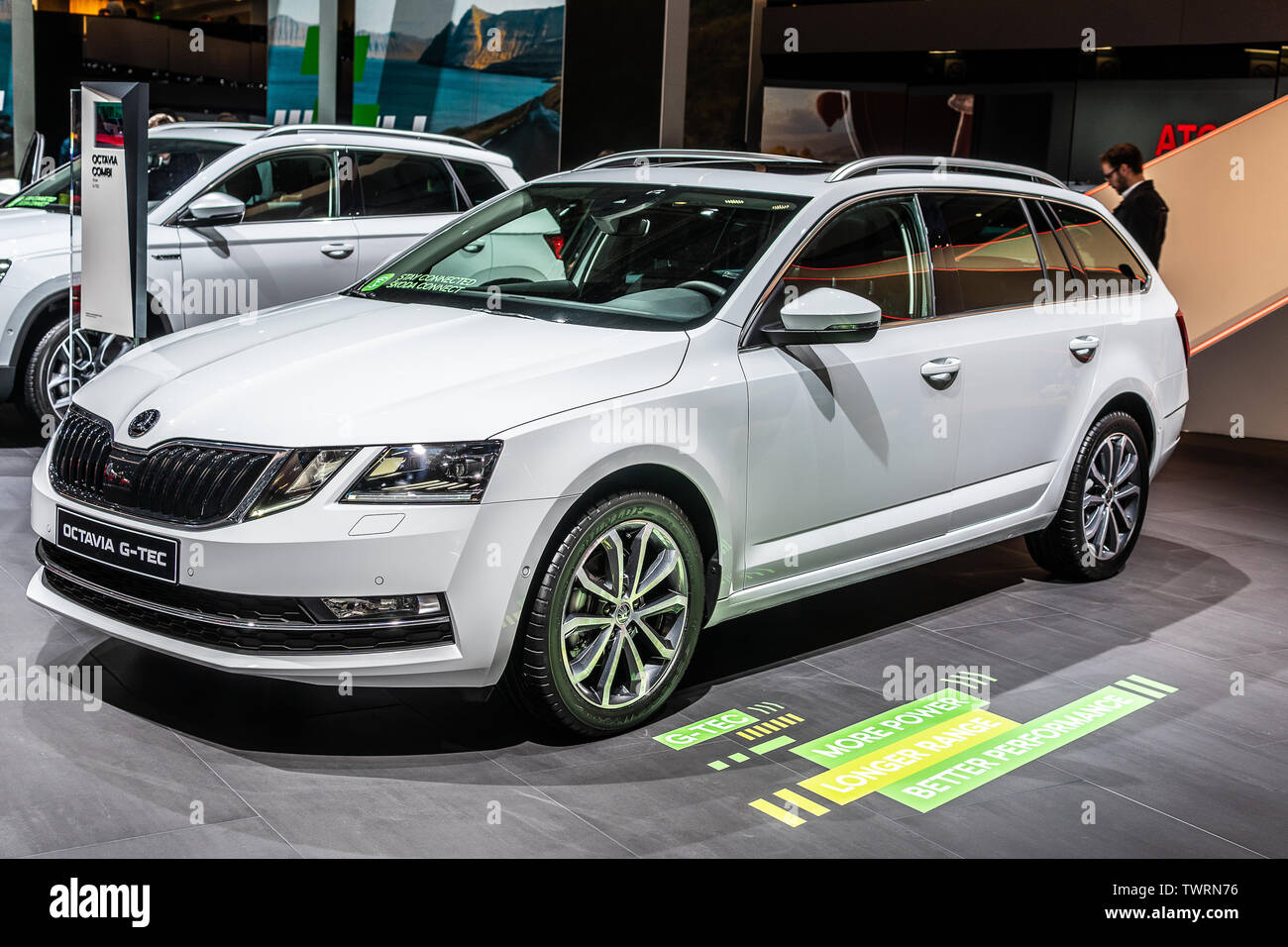 Skoda Octavia High Resolution Stock Photography And Images Alamy