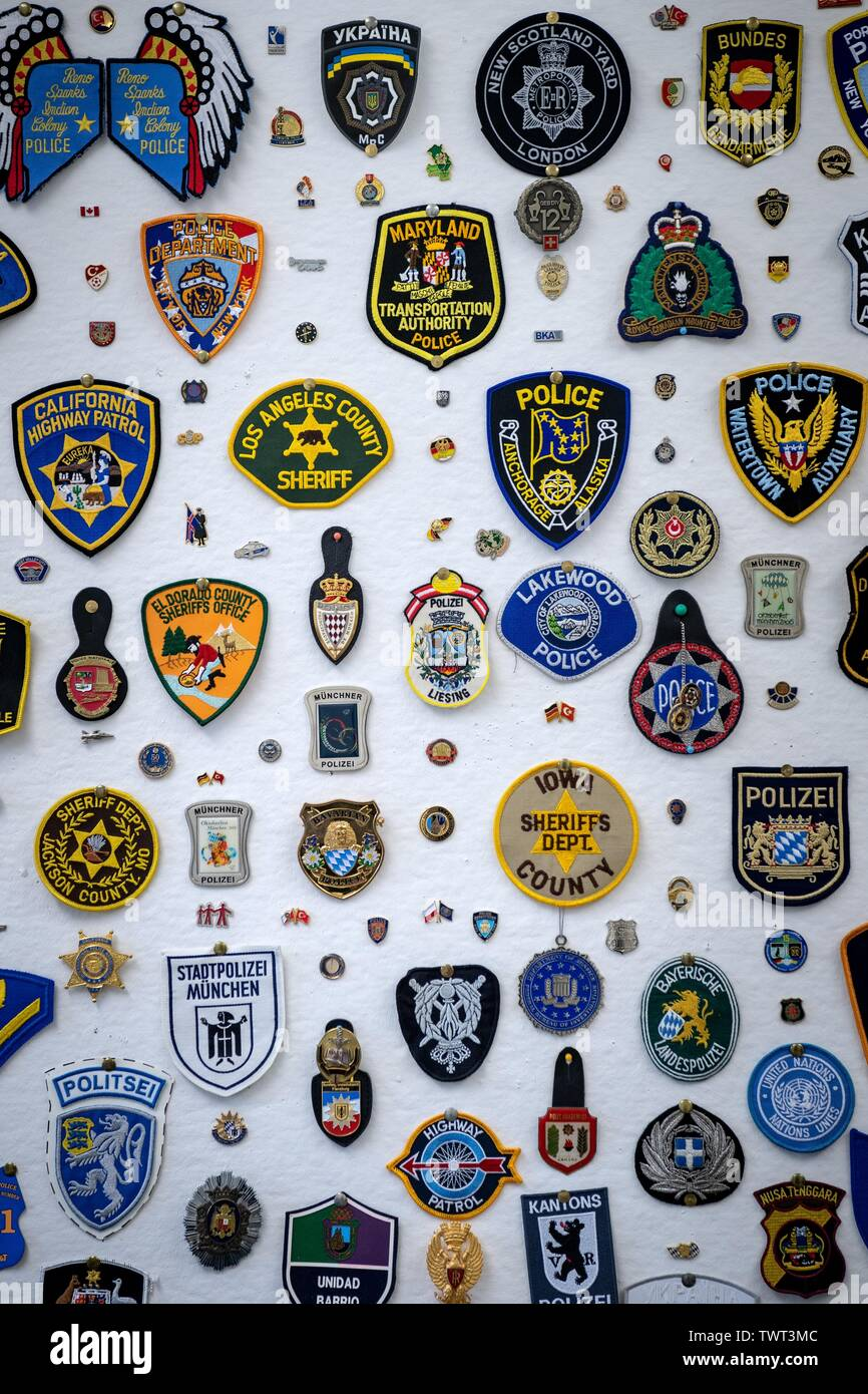 POLICE MEMORIAL DAY AMERICAN POLICE HALL OF FAME WASHINGTON DC POLICE PATCH