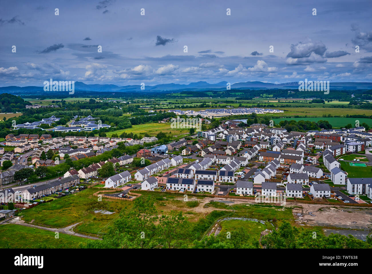 Stirling Scotland (SCWM) Stock Photo