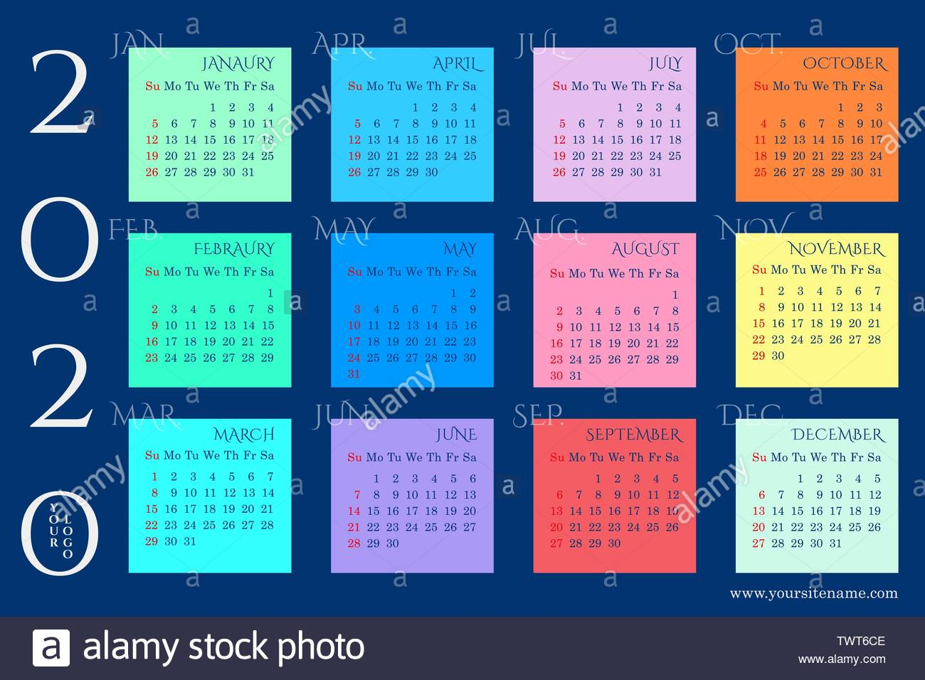 Calendario Ramadan 2020.Month Vector Vectors Stock Photos Month Vector Vectors Stock