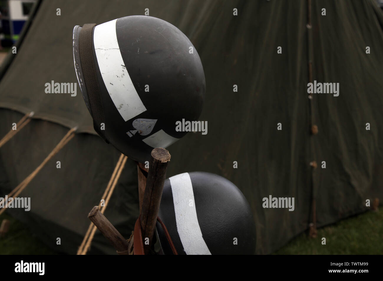 Ww2 Helmet Stock Photos & Ww2 Helmet Stock Images - Alamy