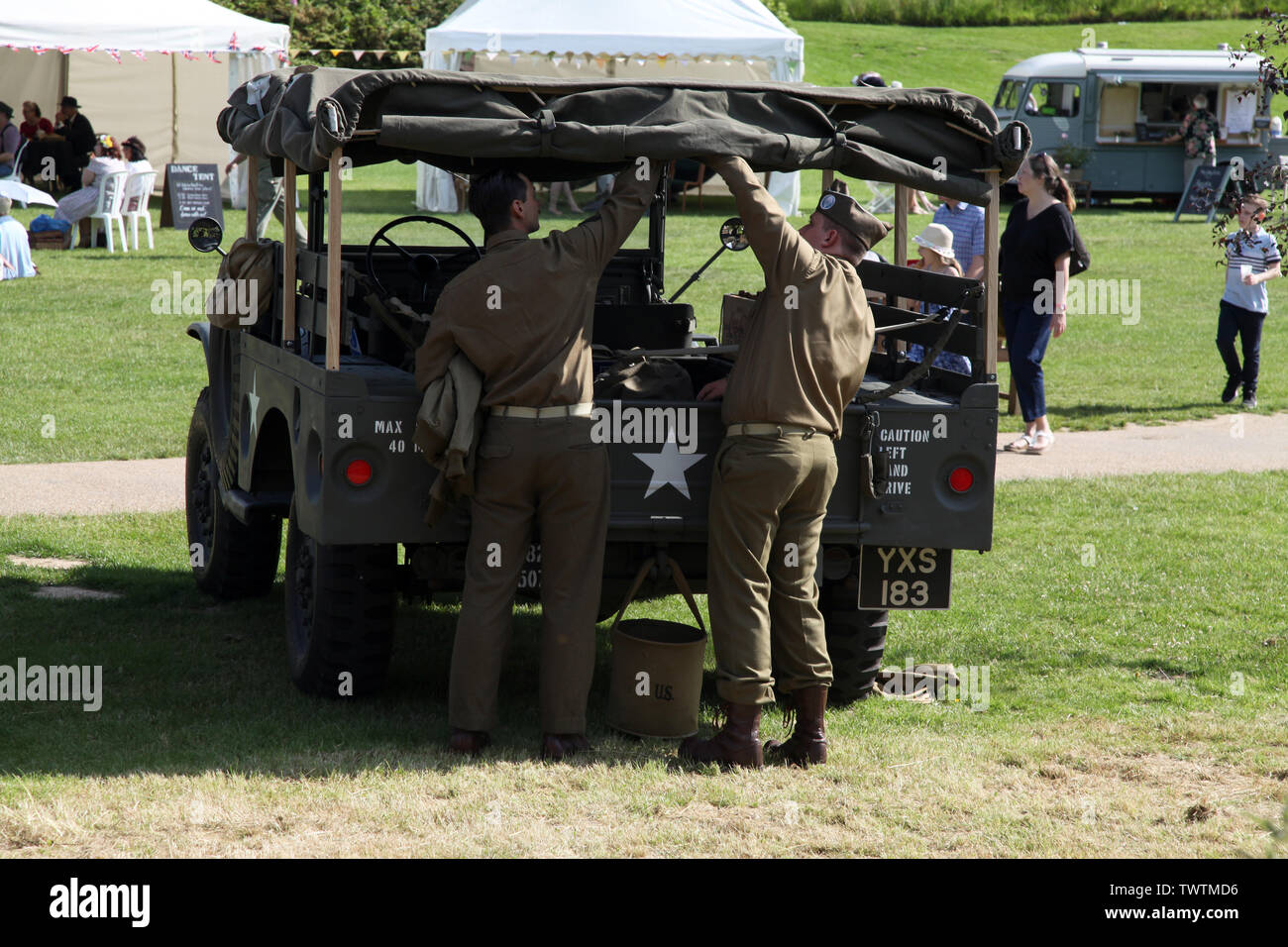 Army Personnel Vehicle on Wooden Plinth Military German Half-Track