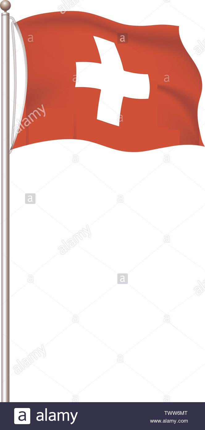 Red Cross Flag Cut Out Stock Images Pictures Alamy