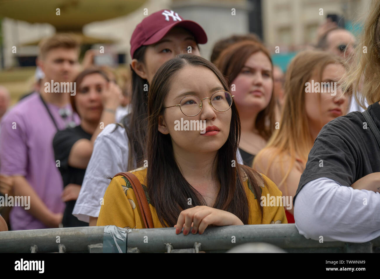 London, UK. 23rd June, 2019. West End Live 2019 - Day 2 in Trafalgar Square, on 23 June 2019, London, UK. Credit: Picture Capital/Alamy Live News - Stock Image