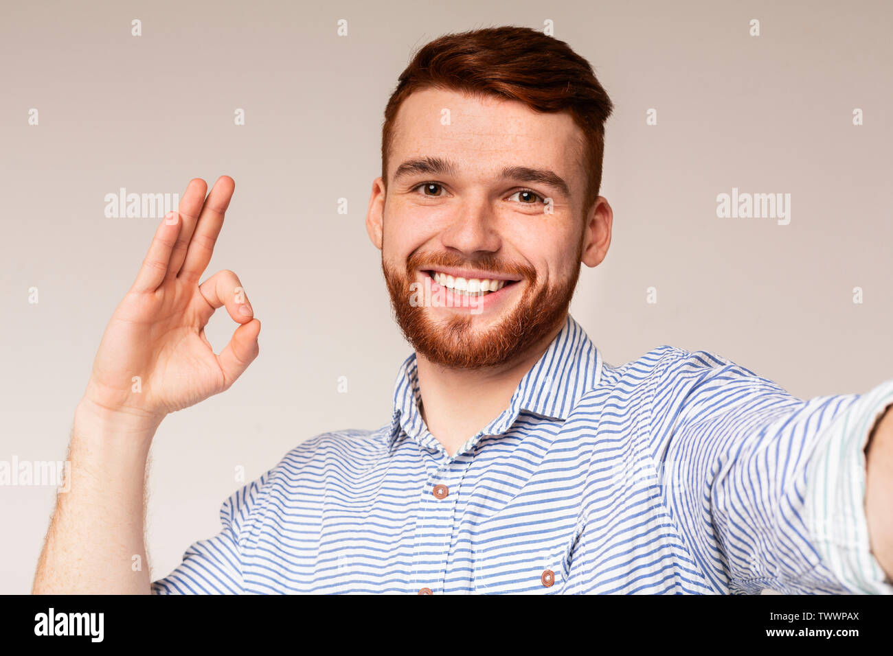 Selfie handsome guy How to