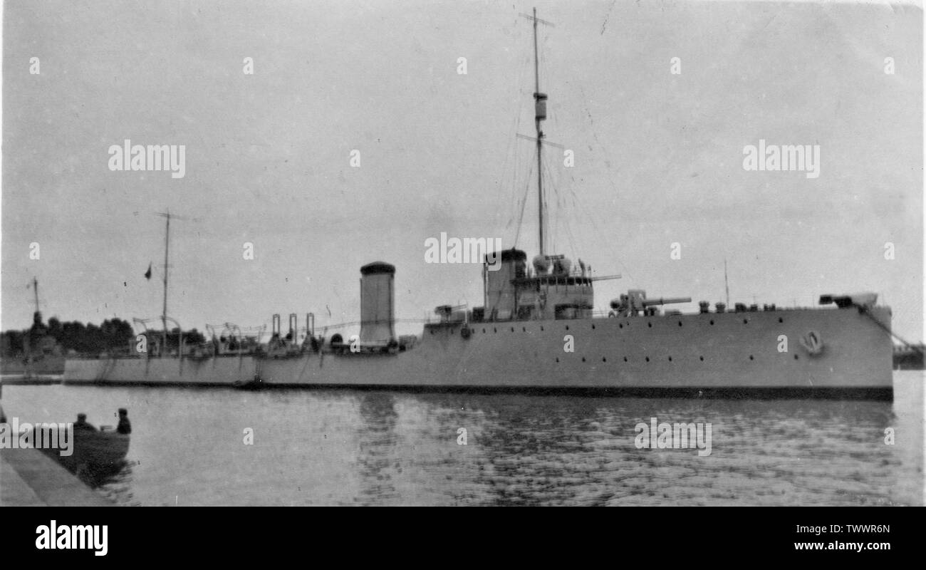 'The destroyer Ardente in  1916.; 1916; it.Wikipedia; unattributed; ' - Stock Image