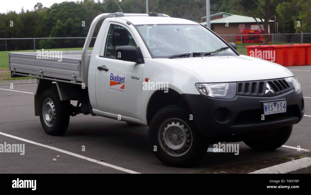 Mitsubishi Triton High Resolution Stock Photography And Images Alamy