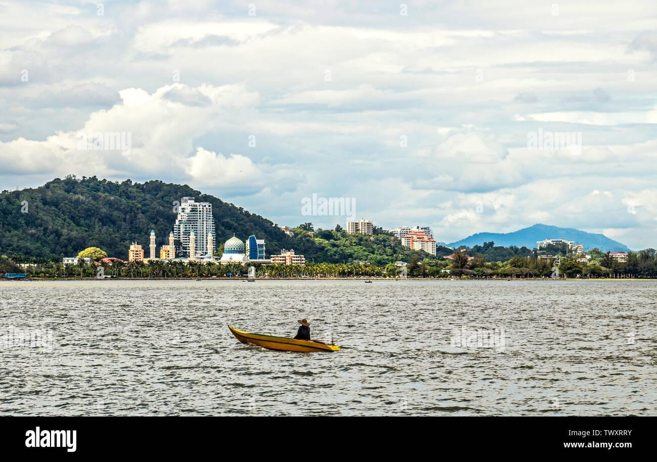 Likas Bay Kota Kinabalu Sabah Malaysia Borneo - Stock Image