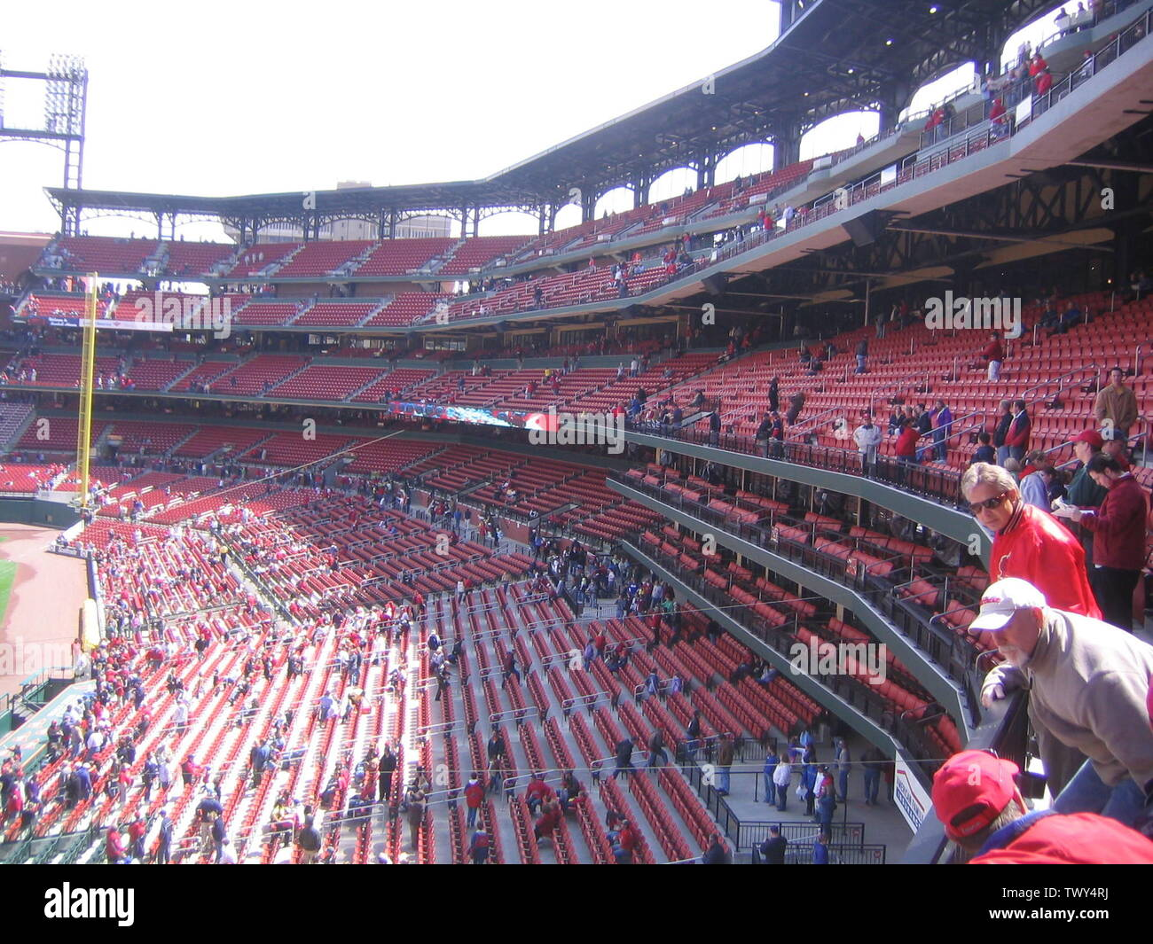 'Image take at Busch Stadium Open House, April 8th 2006  16:03, 28 April 2006 . . Mdglazerman . . 2048×1536 (1,193,406 bytes); Commons upload by Soxrock 11:10, 19 August 2007 (UTC); From en.wikipedia; description page is (was) here; User Mdglazerman on en.wikipedia; ' - Stock Image