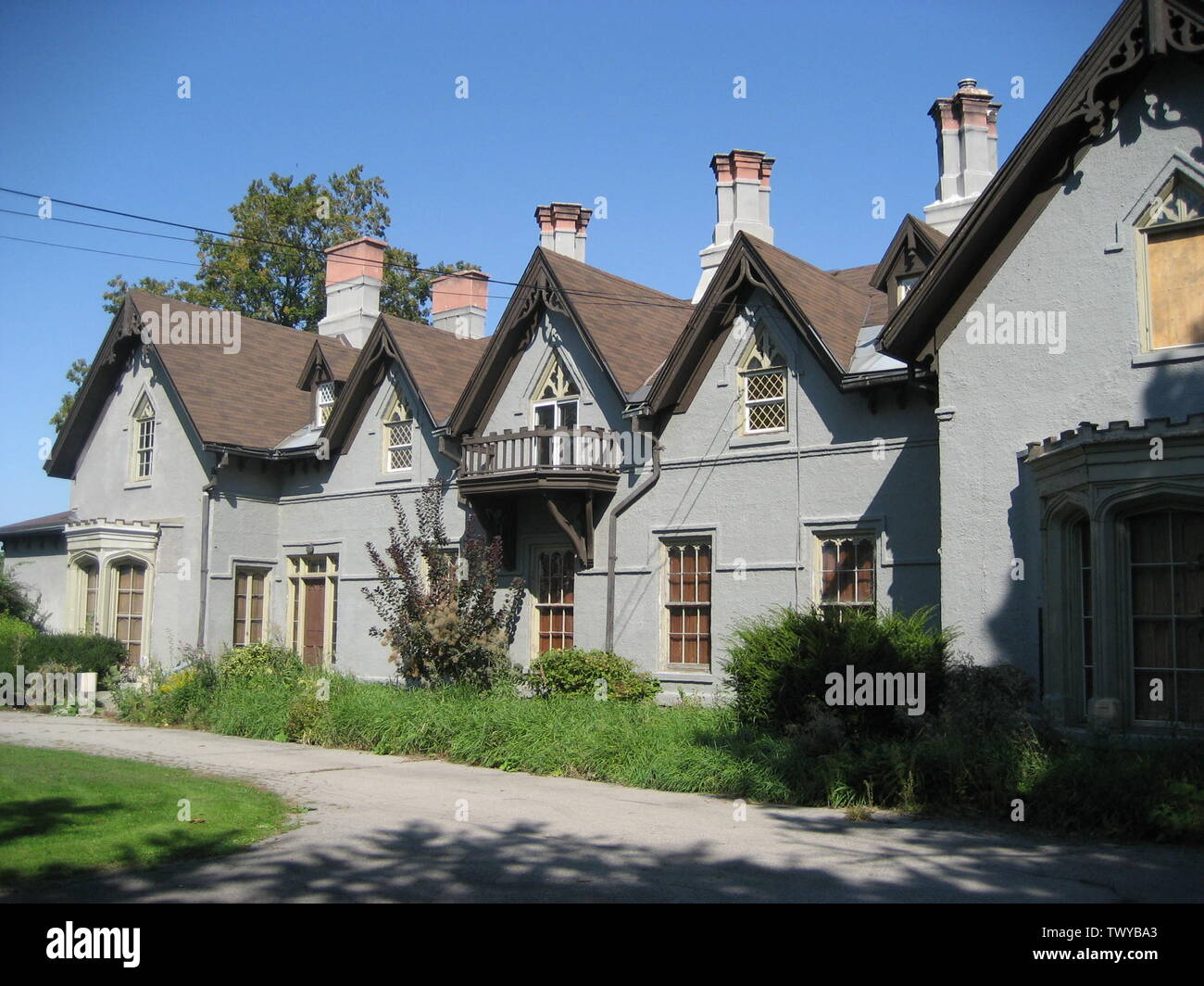'English: Auchmar, historic site and one-time Estate of Isaac Buchanan, who founded both the Hamilton and Toronto Board of Trades, Fennell Avenue, Hamilton, Canada.; 27 September 2008; Own work (Original text:  I created this work entirely by myself.); Nhl4hamilton; ' - Stock Image