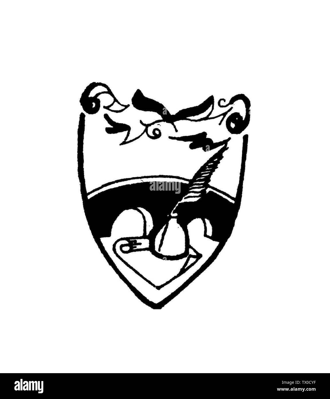 'English: The Bridgetown Vocational College crest that appears on the school uniform and school diaries; 15 April 2007; Own work; Tad1989 (talk) (Uploads); ' - Stock Image