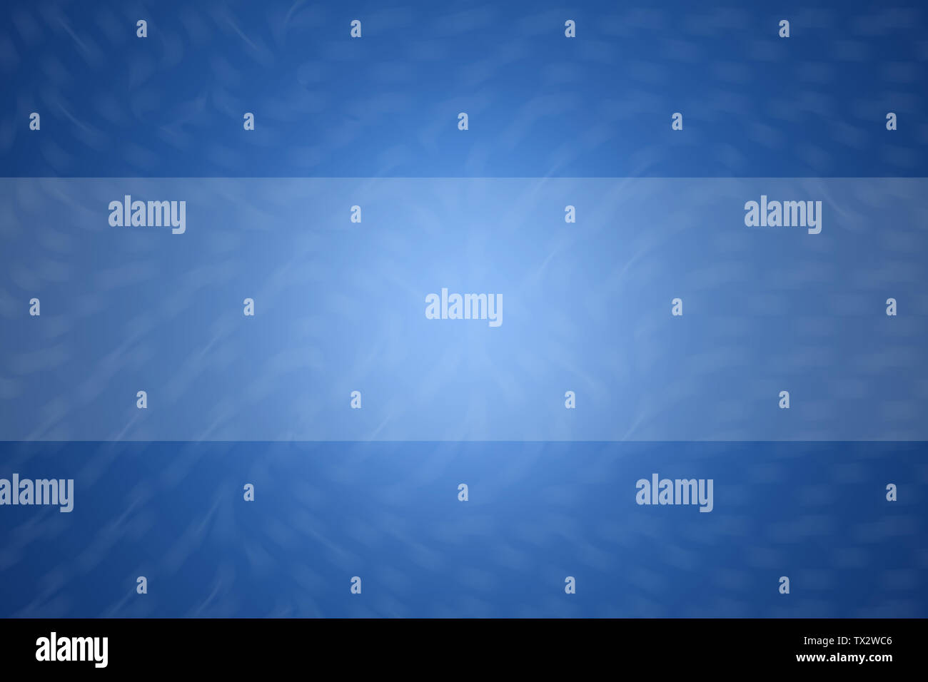 Blue abstract background illustration, Copy space for text banner, - Stock Image
