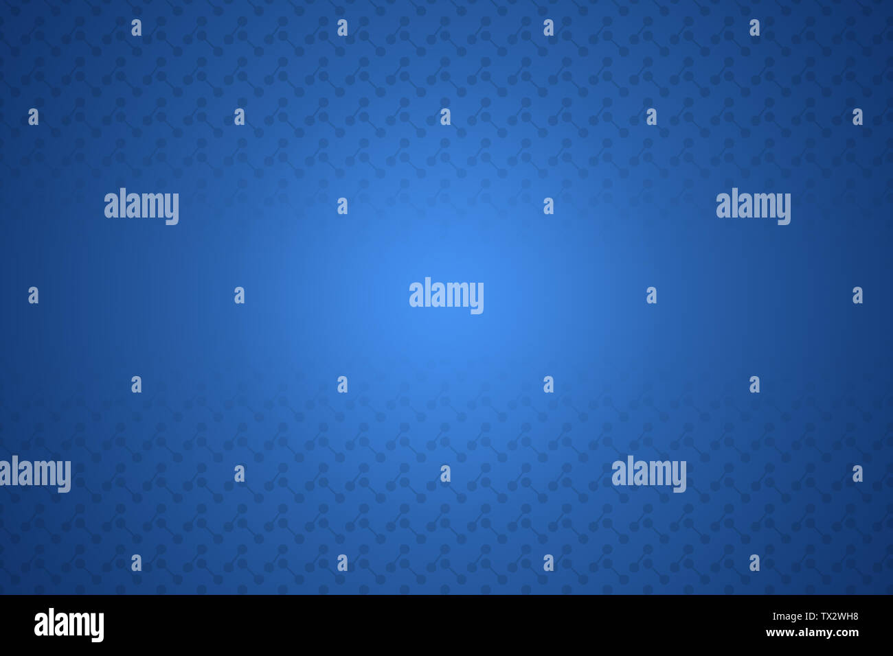 Blue abstract background illustration, Copy space for text banner? - Stock Image