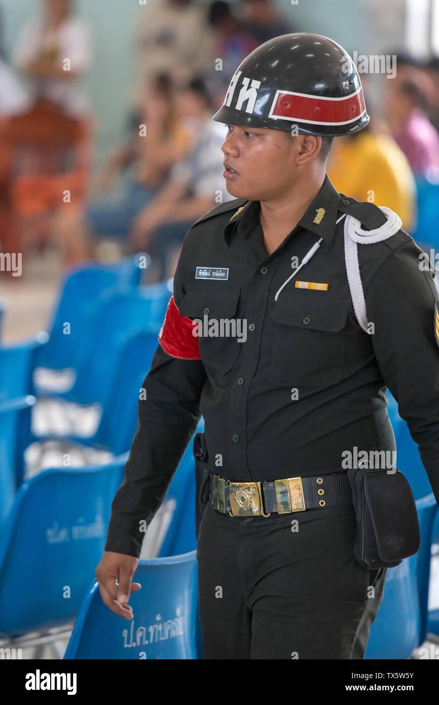 Thailand Military Police Stock Photo - Alamy