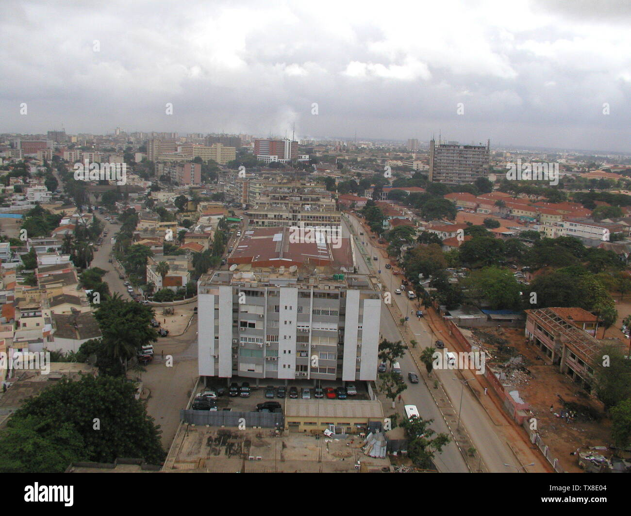 'English: Luanda, Angola in 2005.; 5 May 2007 (original upload date); Transferred from en.wikipedia to Commons by Smooth_O using CommonsHelper.; Waqcku at English Wikipedia; ' - Stock Image