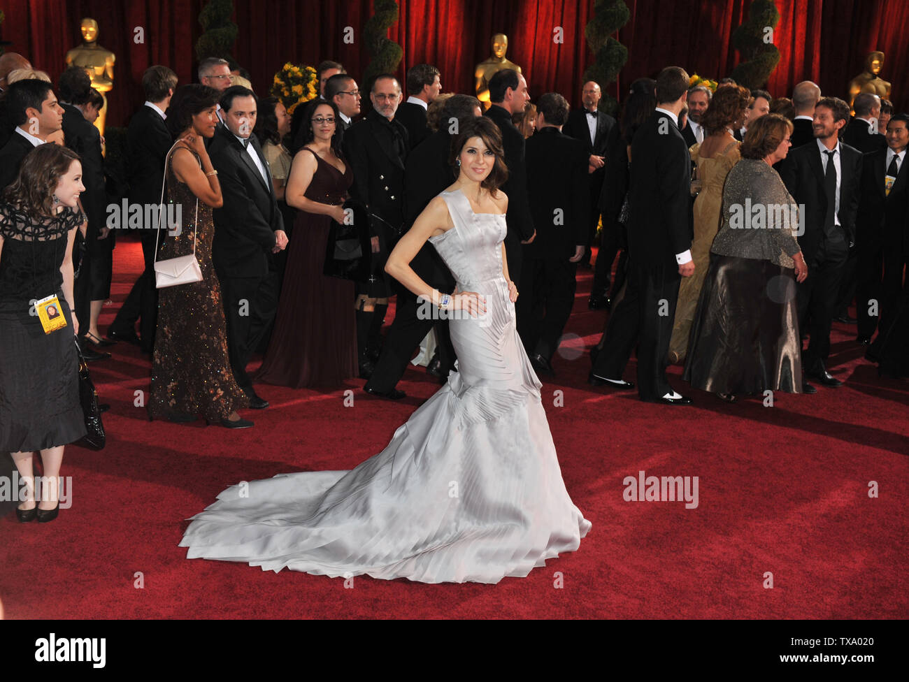 LOS ANGELES, CA. February 22, 2009: Marissa Tomei at the 81st Academy Awards at the Kodak Theatre, Hollywood. © 2009 Paul Smith / Featureflash - Stock Image