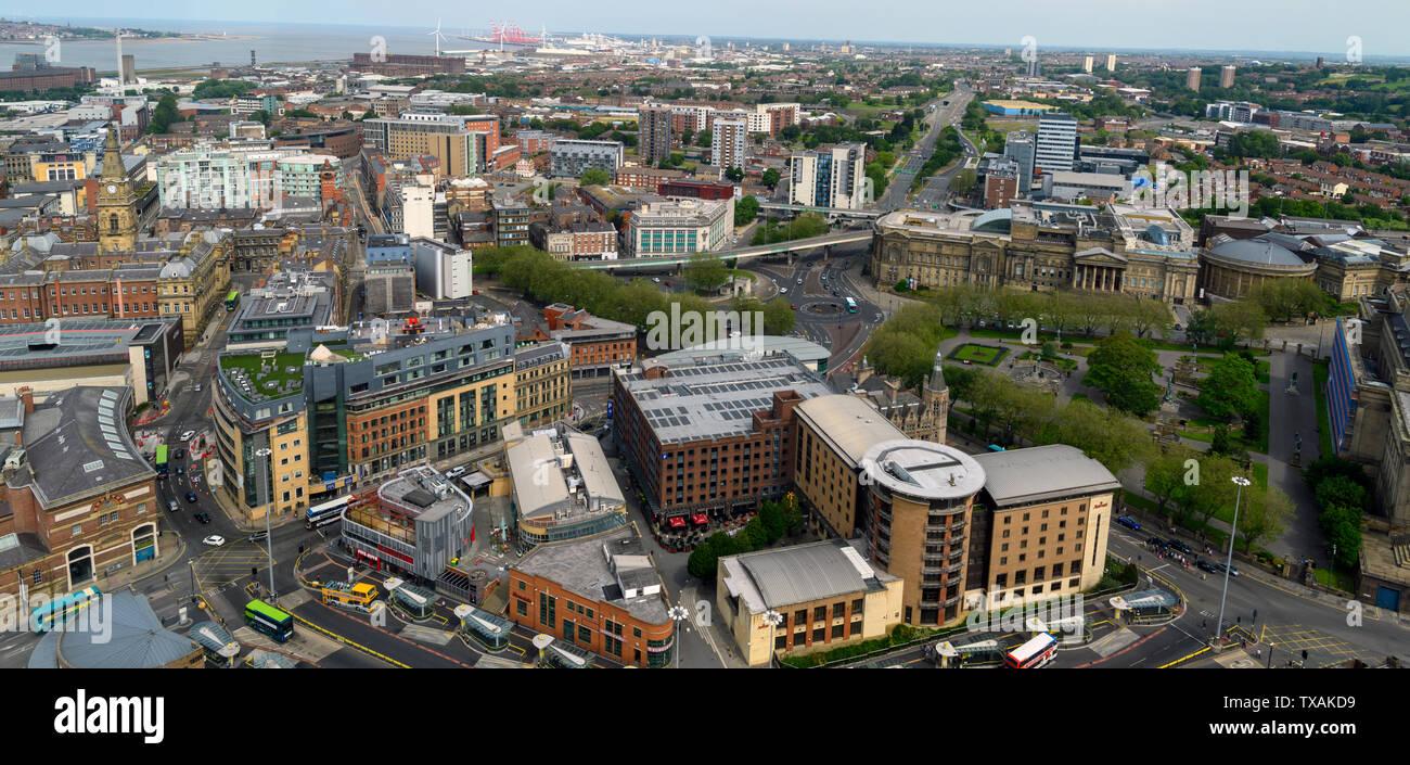 Liverpool City Centre Stock Photos & Liverpool City Centre Stock