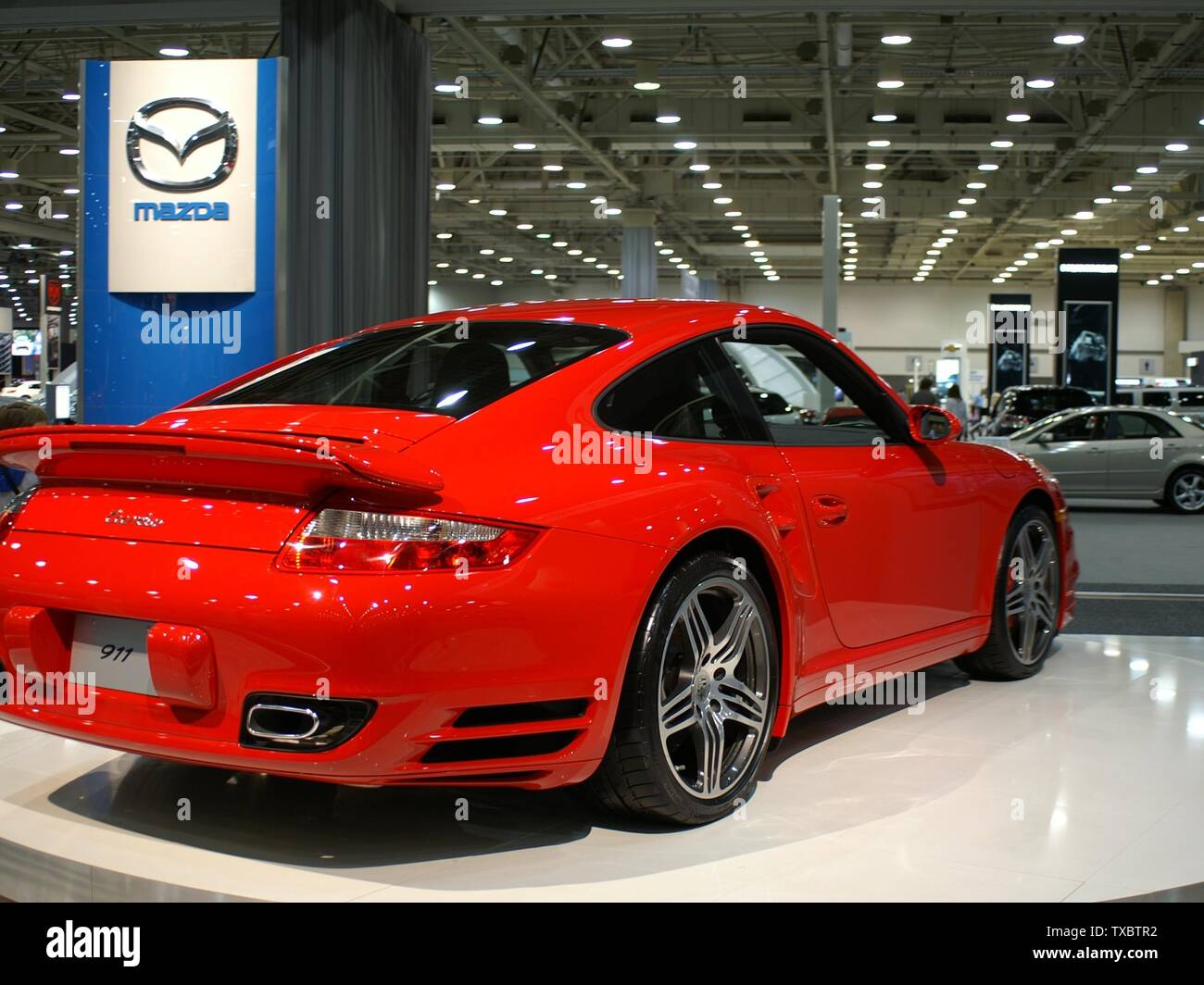Dallas Auto Show >> Red Porsche 911 Turbo At Dallas Auto Show In March 2007 Own