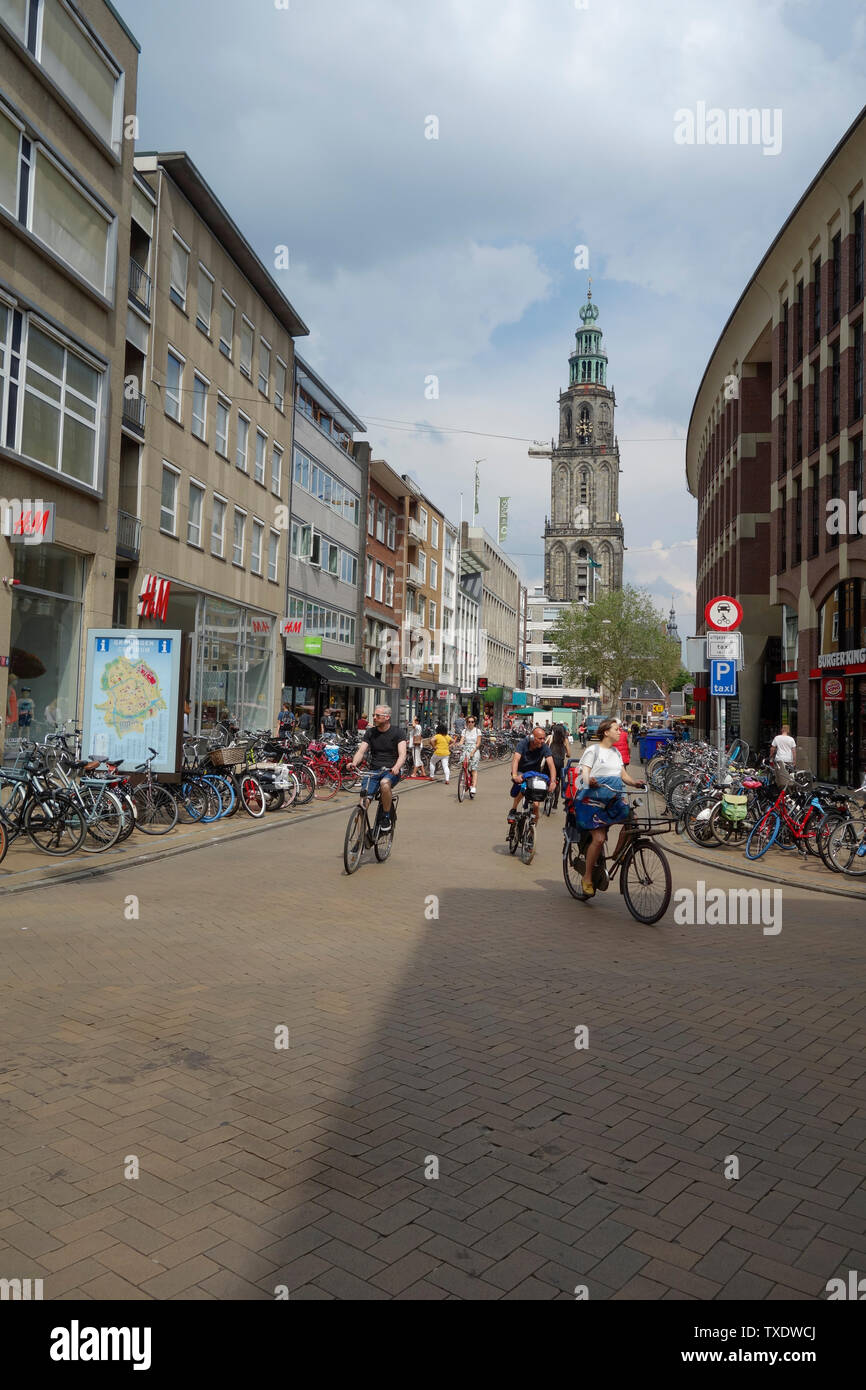 Groningen, The Netherlands - Stock Image
