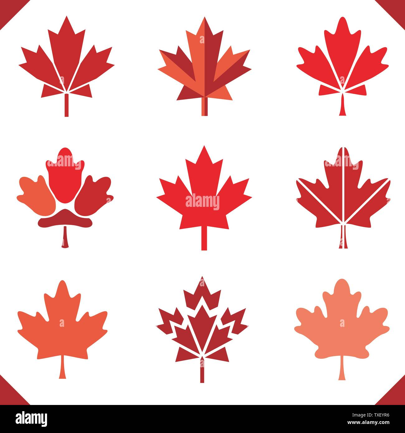 Canada Stock Vector Images Alamy