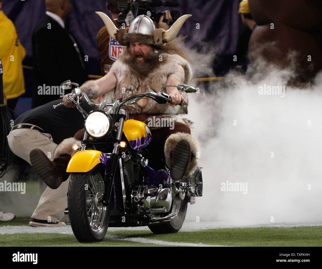 Joseph Juranitch The Minnesota Vikings Mascot Ragnar Rides