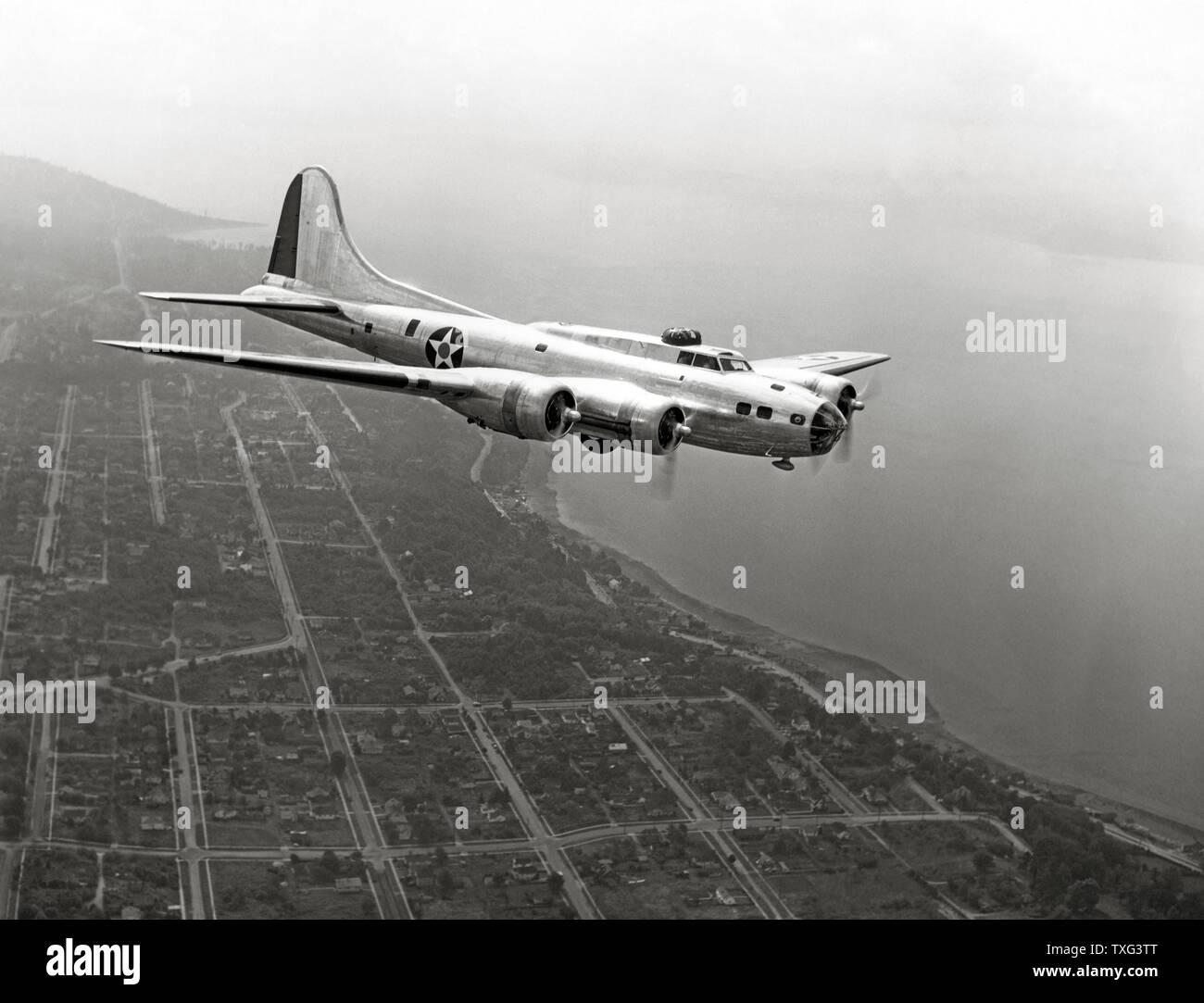 Servicing A New B-17F