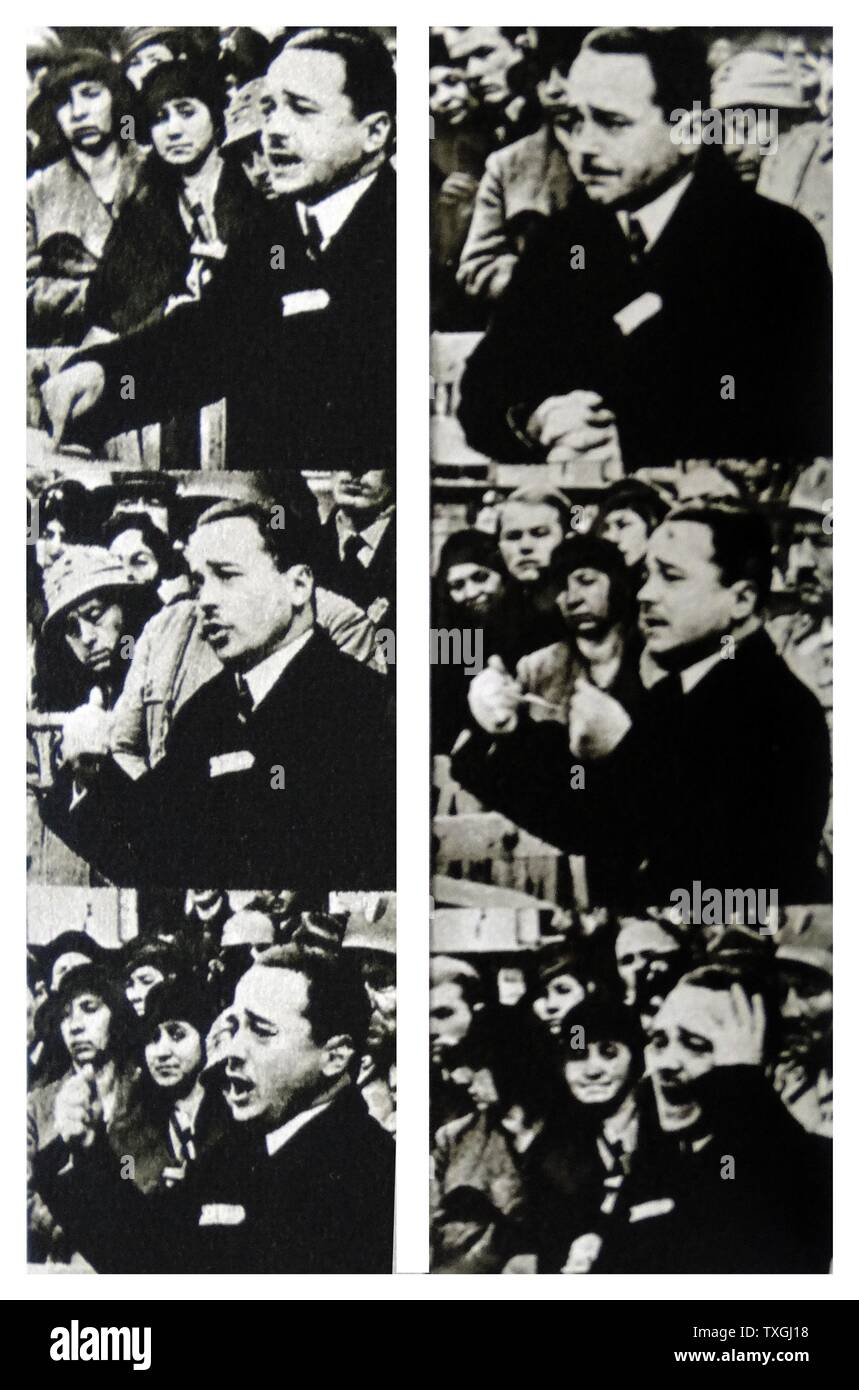 Engelbert Dollfuss (1892 ñ1934) Austrian statesman.  Federal Chancellor in 1932 in the midst of a crisis for the conservative government.  Dollfuss was assassinated as part of a failed coup attempt by Nazi agents in 1934. - Stock Image