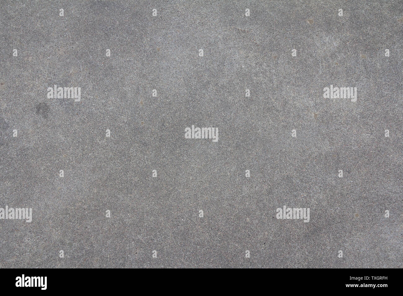 Sanded cement background. Smooth concrete surface. Polished grey stone texture. - Stock Image