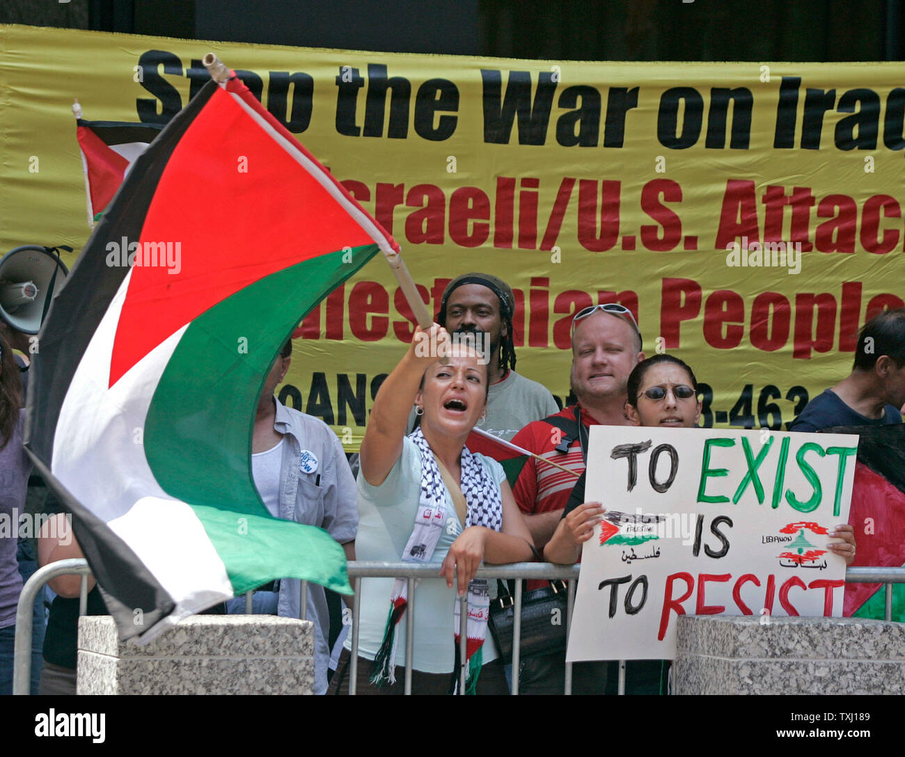 Israel Supporters Stock Photos & Israel Supporters Stock Images - Alamy