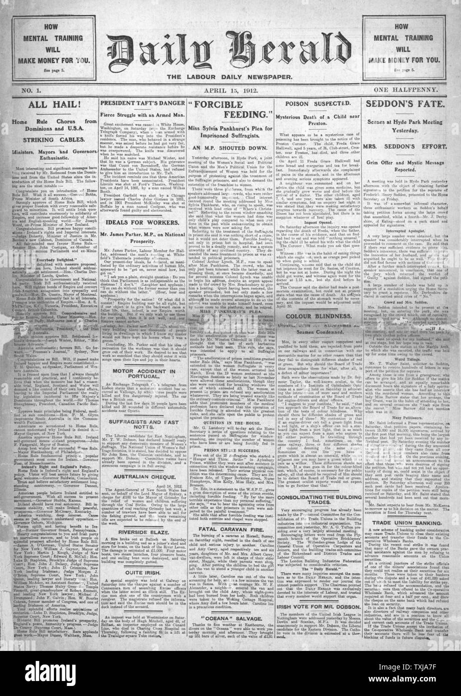 The Herald Newspaper Stock Photos & The Herald Newspaper