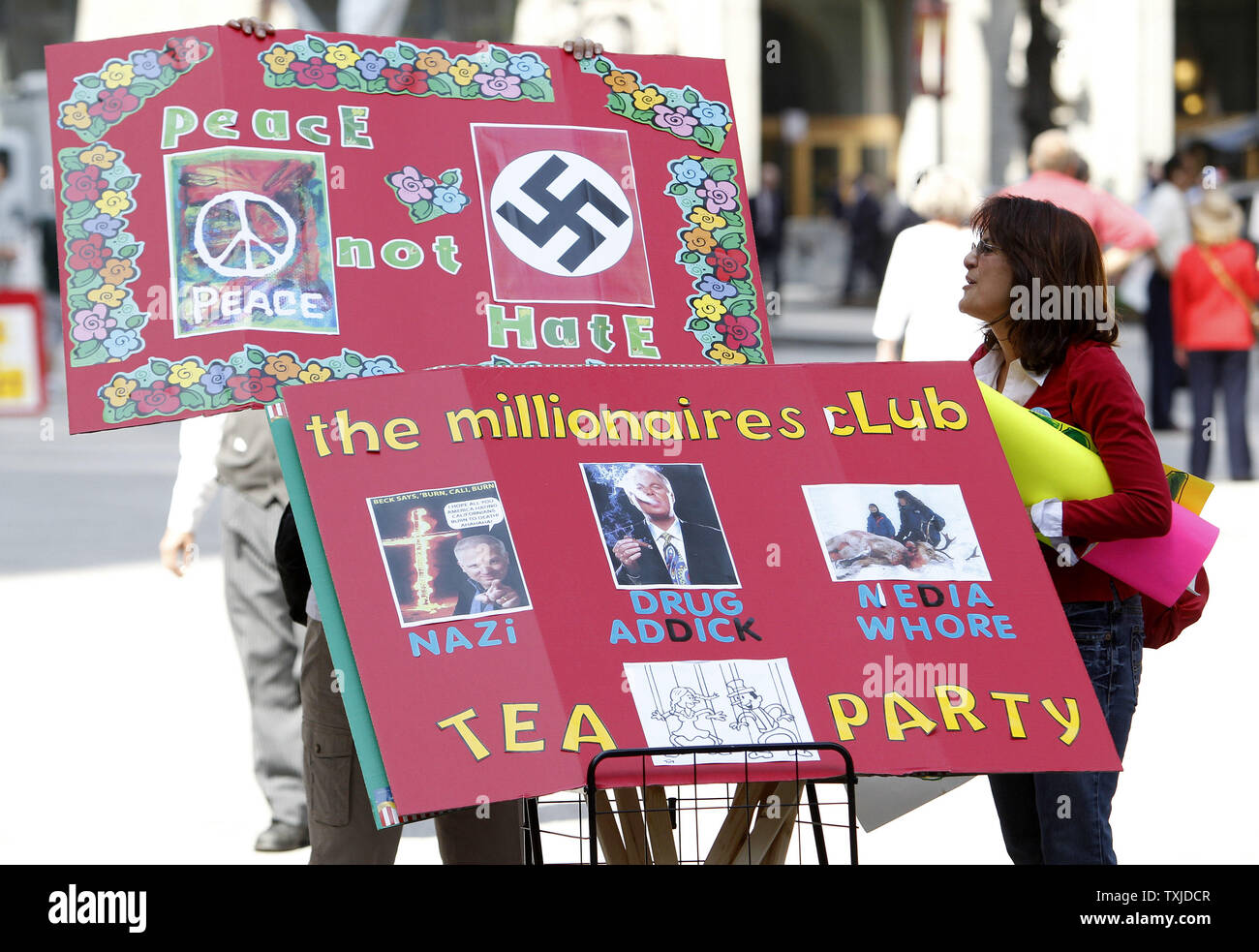 Anti Tea Party High Resolution Stock Photography And Images Alamy