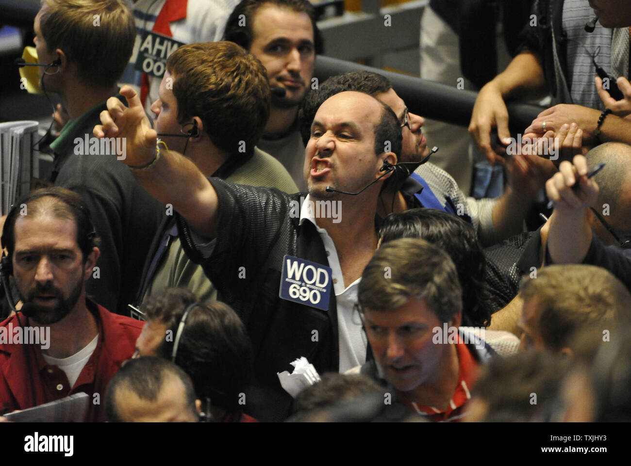 Richard Woodstein Works In The Eurodollar Futures Pit On The