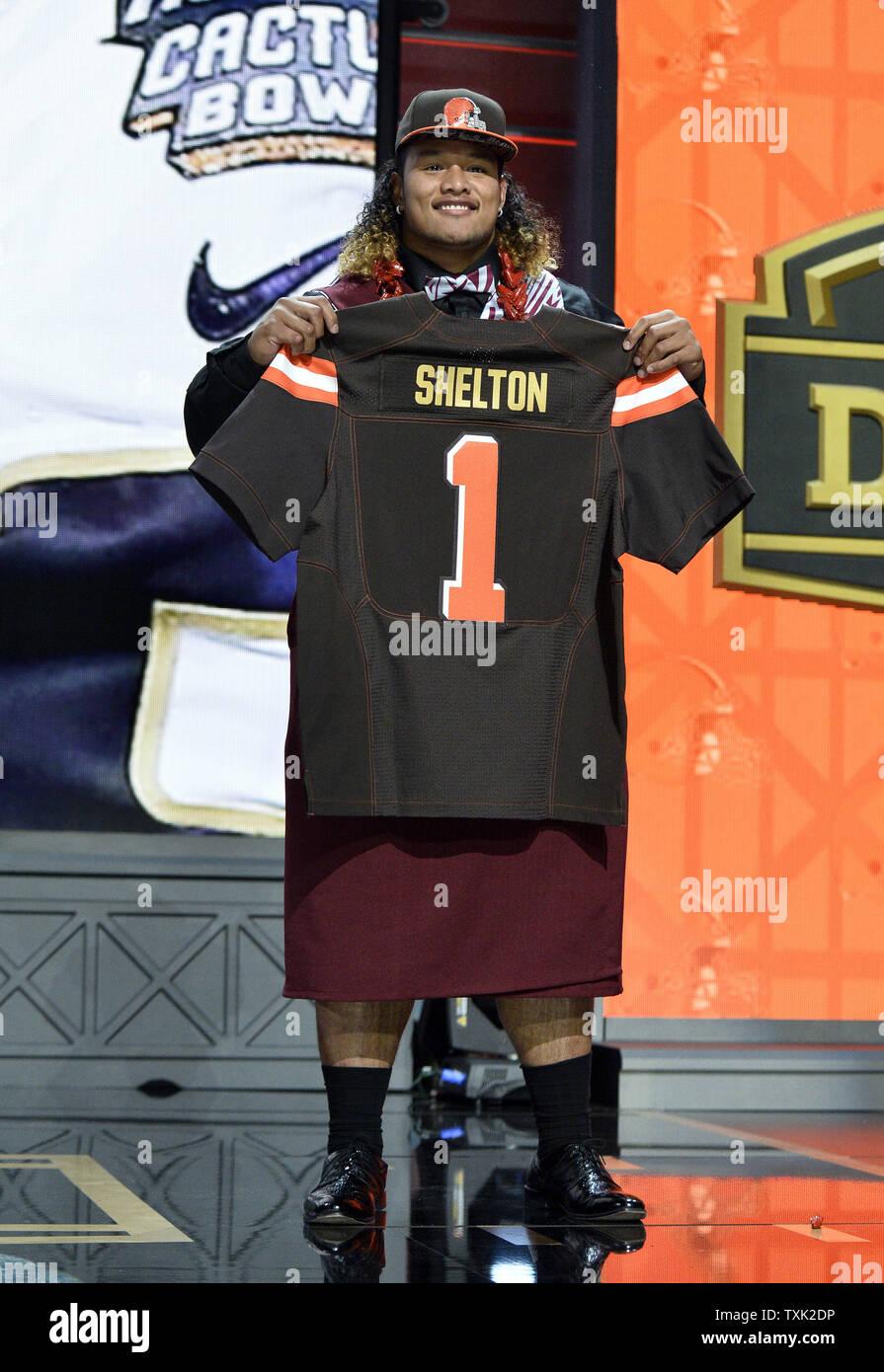 danny shelton browns jersey
