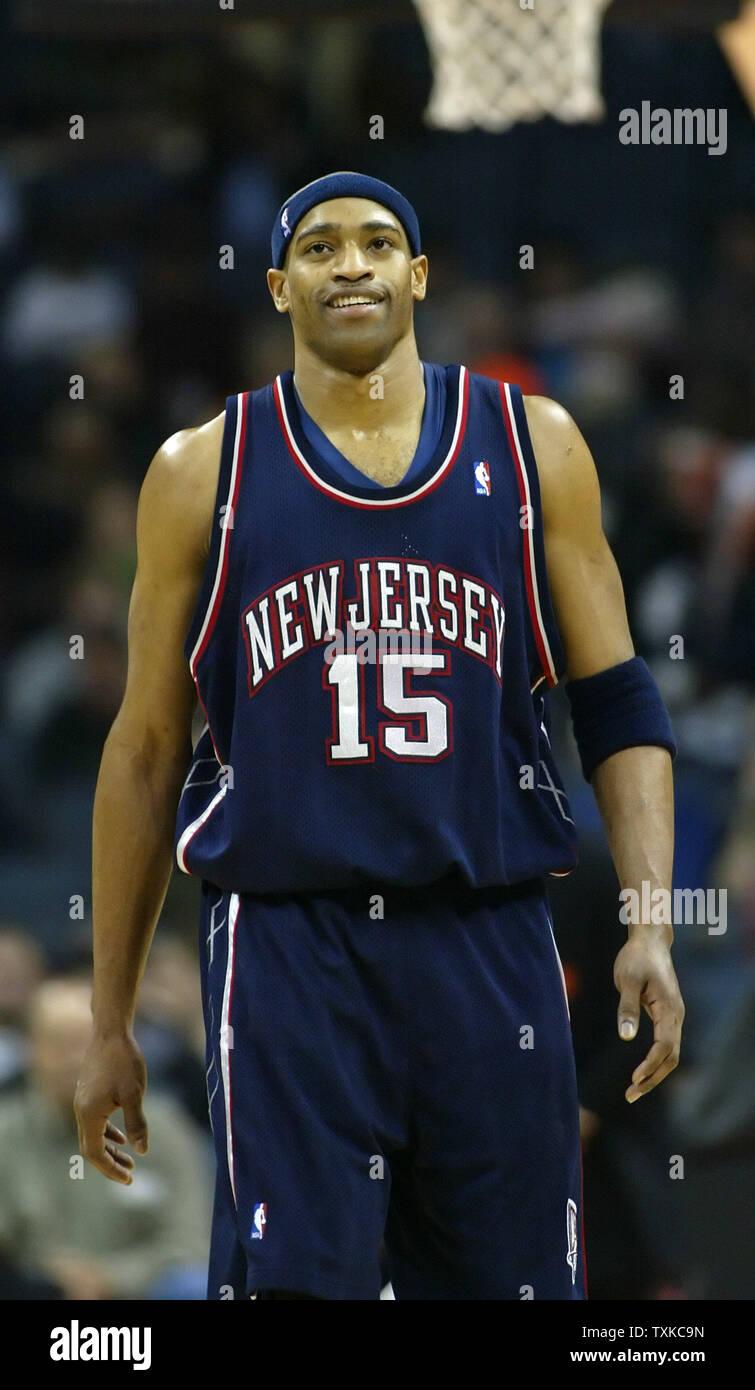 more photos 9bb7c 192f6 New Jersey Nets guard Vince Carter walks upcourt after being ...