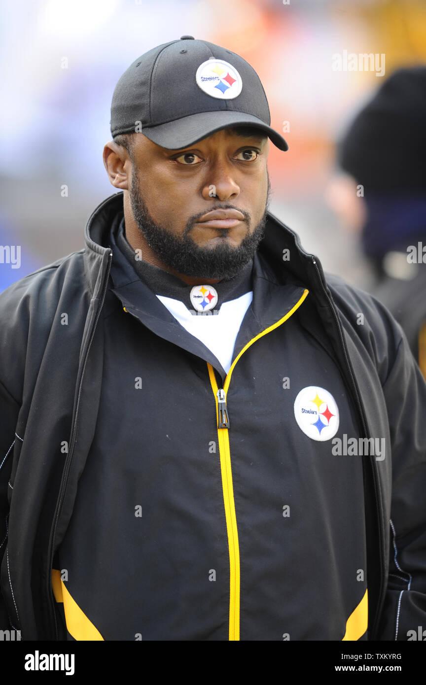 Pittsburgh Steelers Head Coach Mike Tomlin Walks The